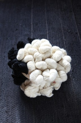 Yarn from Wåhlstedt's Wool Spinning Mill